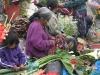 Woman Working in Market